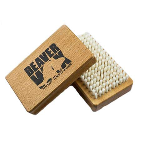 Beaver Wax tuning brush